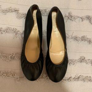 Black J. Crew Ballet Flats Size 9